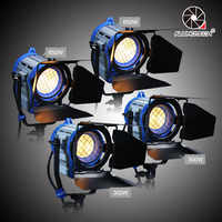 ALUMOTECH As Arri Dimmer Built-in 300wX2+650WX2 Dimming Fresnel Tungsten Bulb For Camera Video Photography Studio Lighting Lamp