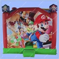 Super Mario Bouncy Castle, Inflatable Game ,Inflatable Bouncer with Slide inside, Commercial Quality