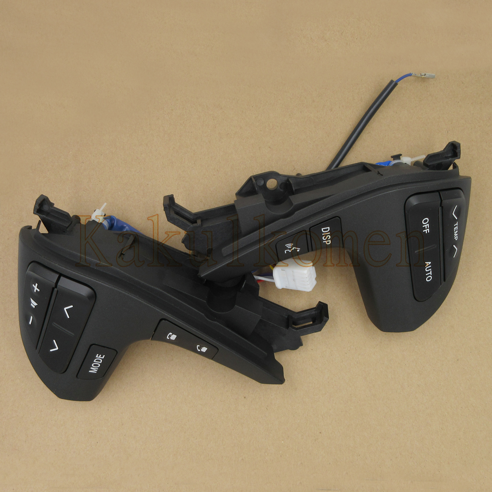 Steering PAD Audio Control Switch With Bluetooth 84250-0E120 842500E120 For Toyota Highlander 2009-2015