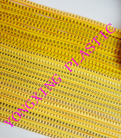 1300 Lot EC 0 1 5MM2 Freeshipping ABCDEFGHIJKLMNOPQRSTUVWXYZ Letter Cable Marker 26 Differnt Letter Suit Cable