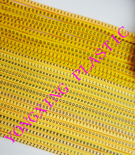 hot deal buy 1300/lot ec-0 1.5mm2 freeshipping abcdefghijklmnopqrstuvwxyz letter cable marker 26 differnt letter suit cable 1.5 square