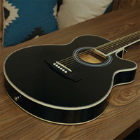 High Quality 40 Acoustic Guitar 20 Frets Rosewood Fingerboard Guitarra Musical Stringed Instruments 6 Strings Guitars