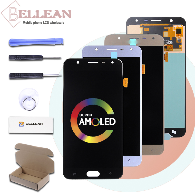 Promotion Catteny For Samsung Galaxy <font><b>J720</b></font> <font><b>Lcd</b></font> Display With Touch Screen Digitizer Assembly 5.5inch J7 Duo 2018 Display image