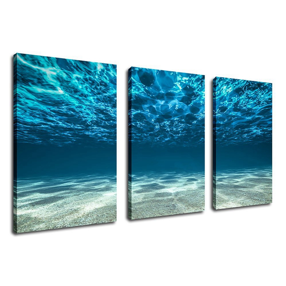 Ocean Poster Wall Art Sea Waves Artwork Large Print