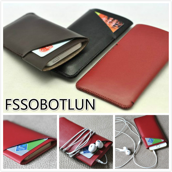 Luxusní pouzdro z mikrovlákna s koženým rukávem pro Samsung Galaxy S6 edge plus / Galaxy Note 4 / Galaxy note3 with CardSlot