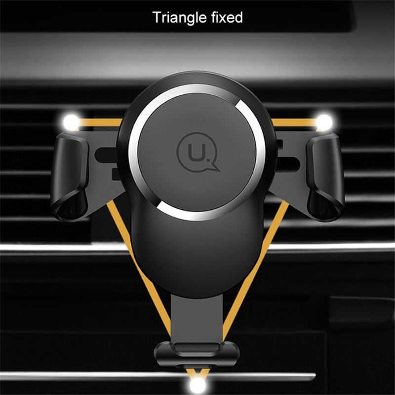 HAWEEL Car Phone Wireless Charger Gravity Sensing Car Mount Qi Standard Wireless Charger Suitable for 4 0 6 0 inch Smartphones in Car Chargers from Cellphones Telecommunications