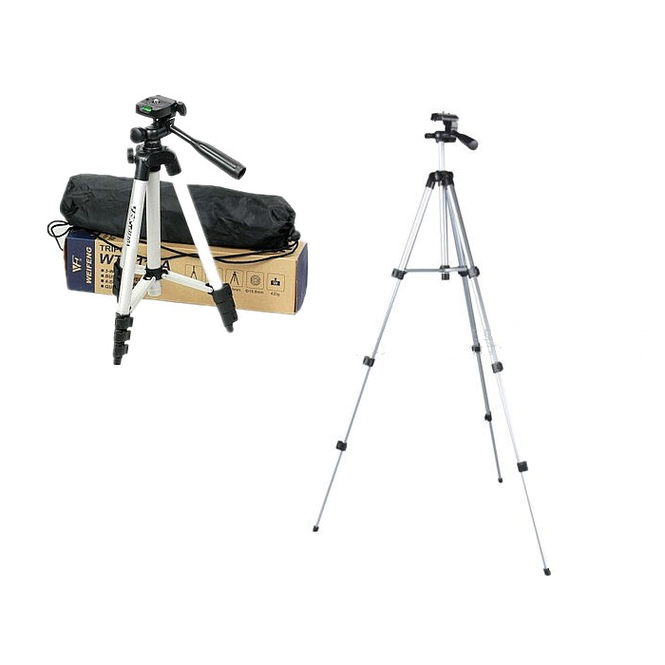 WEIFENG WT3110A Trépied 3-Way Headtripod pour Nikon D7000 D80 D90 D3100 DSLR Sony NEX-5N Canon 650D 60D 600D WT-3110A