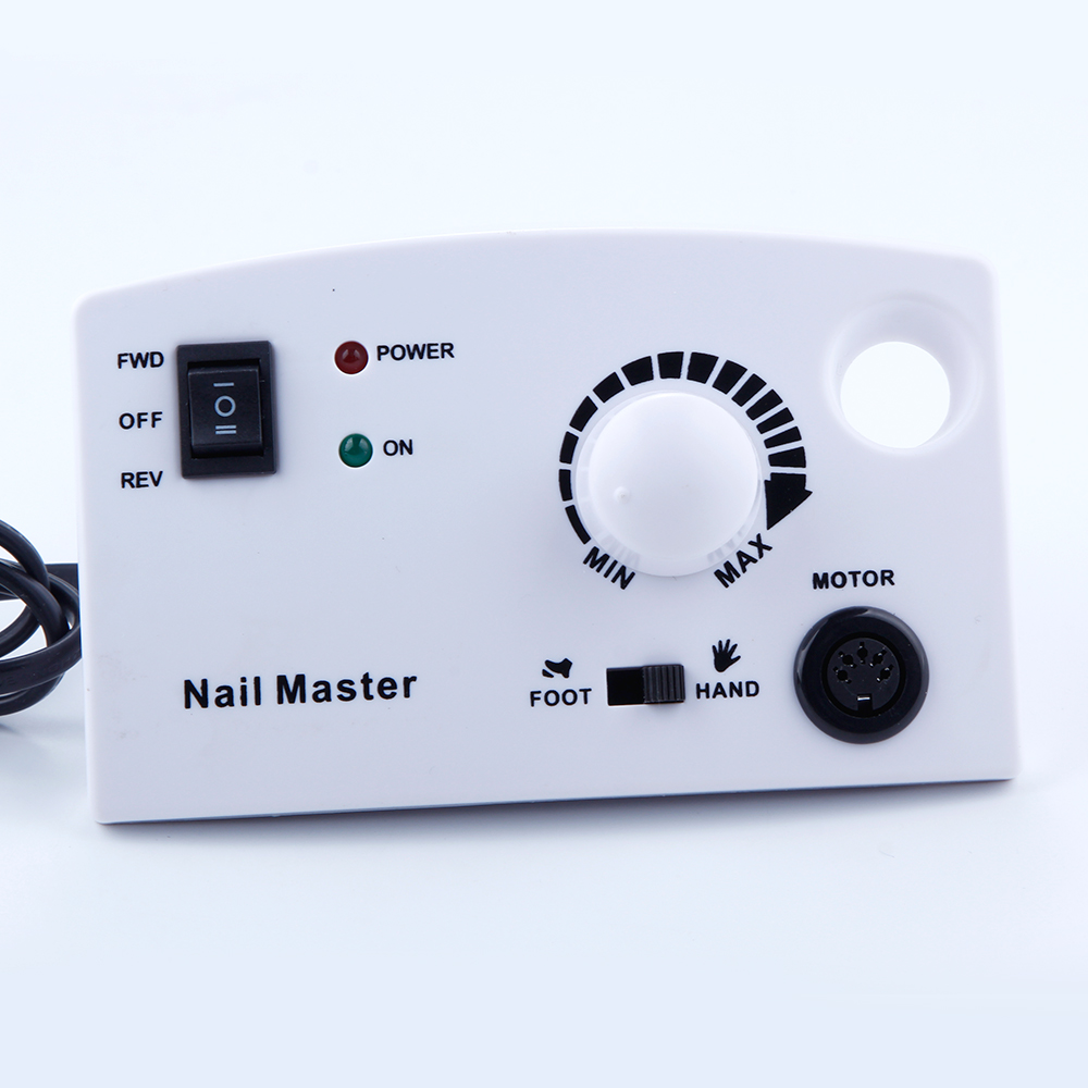 30000 tr/min électrique Nail Art perceuse Machine fraises 300 pièces ensemble de ponçage ongles forets ongles lime appareil pour manucure - 2