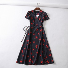 ebf4f5db8d3b0 Galeria de black dress red flowers por Atacado - Compre Lotes de ...