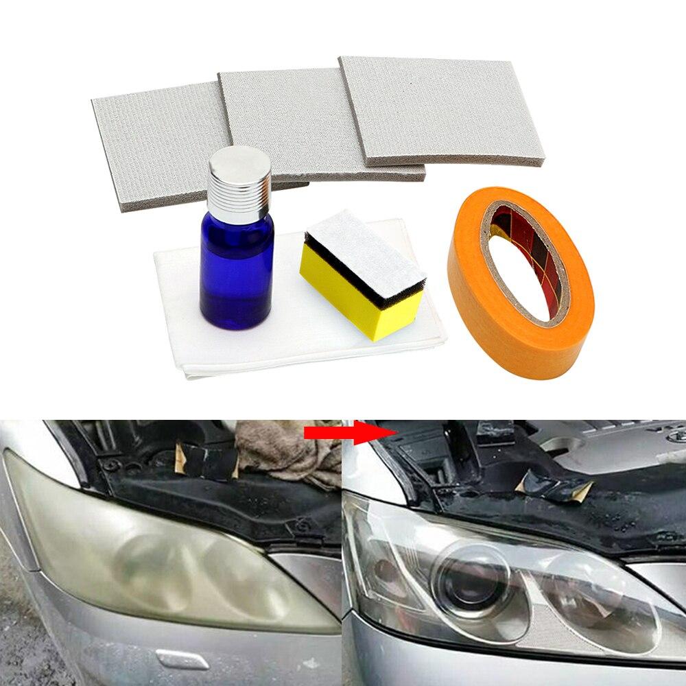 Auto Scheinwerfer Polieren Anti-scratch DIY Für Auto Kopf Lampe Linse Erhöhen Die Sichtbarkeit Scheinwerfer Restorstion Kit Stellt Klarheit