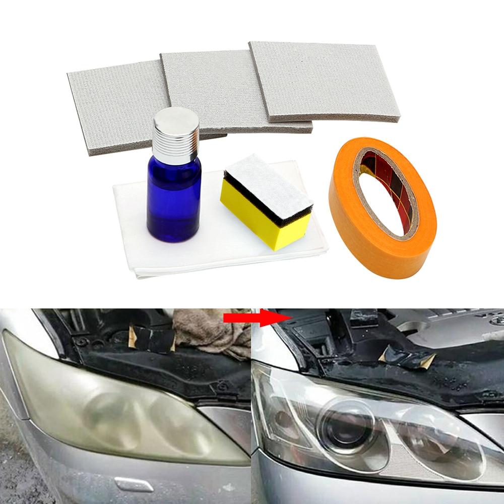 Car Headlamp Polishing Anti-scratch DIY For Car Head Lamp Lense Increase Visibility Headlight Restorstion Kit Restores Clarity