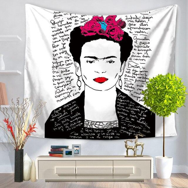 Drop Ship Fashion Frida Kahlo Pattern Home Wall Art Tapestry Bedroom ...