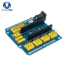 NANO I/O IO датчик расширения щит модуль для Arduino UNO R3 Nano V3.0 3,0 контроллер совместимая плата IEC PWM интерфейс 3,3 В