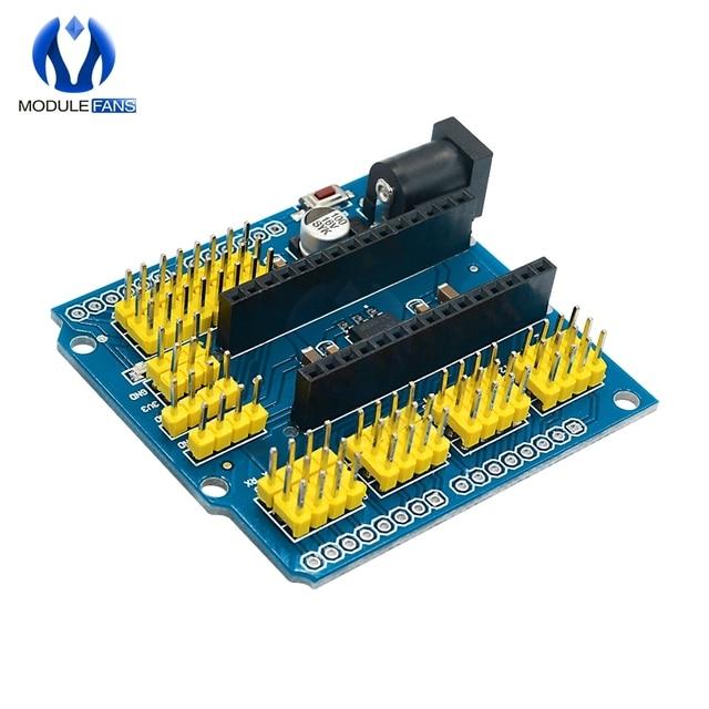 NANO/O IO expansión de Sensor módulo Shield para Arduino UNO R3 Nano V3.0 3,0 controlador Compatible con I2C PWM interfaz, 3,3 V