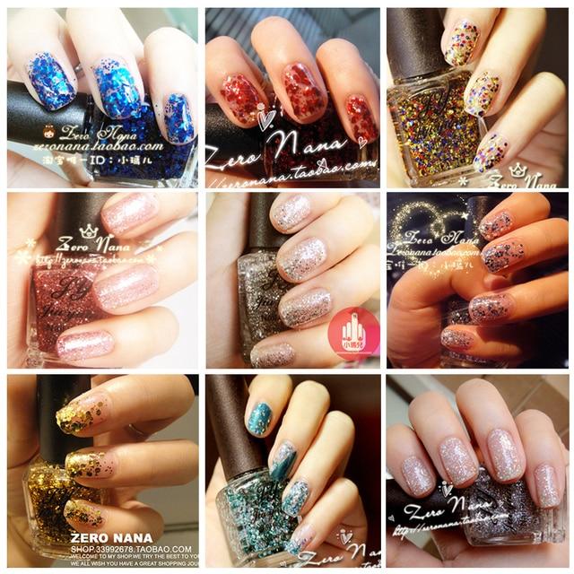 Jy super large sparkling bling paillette nail polish oil 15ml