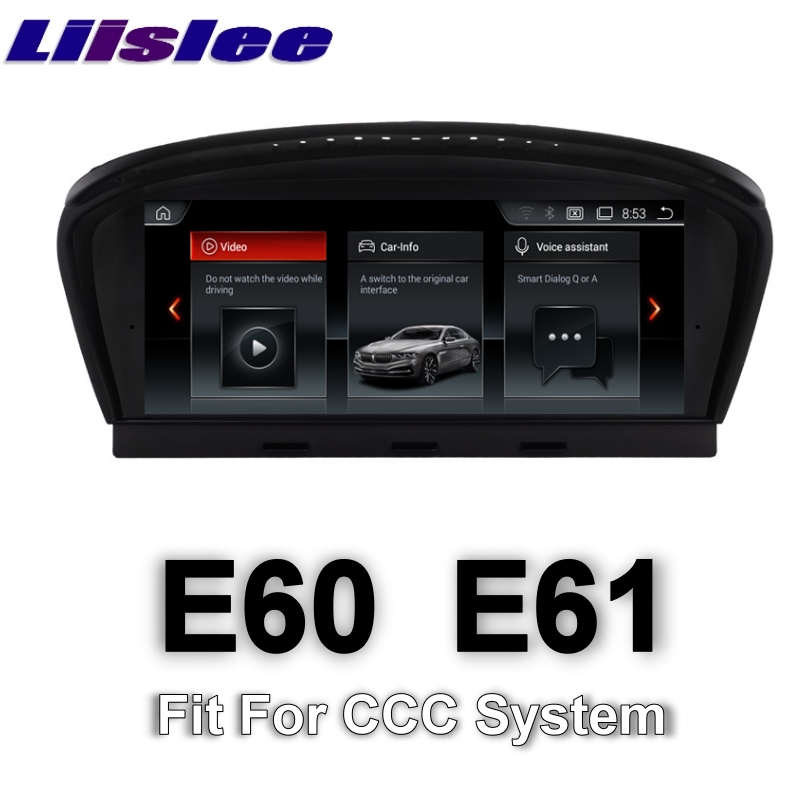 for bmw 5 e60 e61 ccc system 2003 2007 liislee multimedia gps audio hi fi radio stereo original. Black Bedroom Furniture Sets. Home Design Ideas