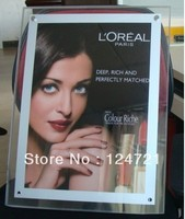 Ultra Thin Crystal Square Light Boxes Advertising Led Light Box