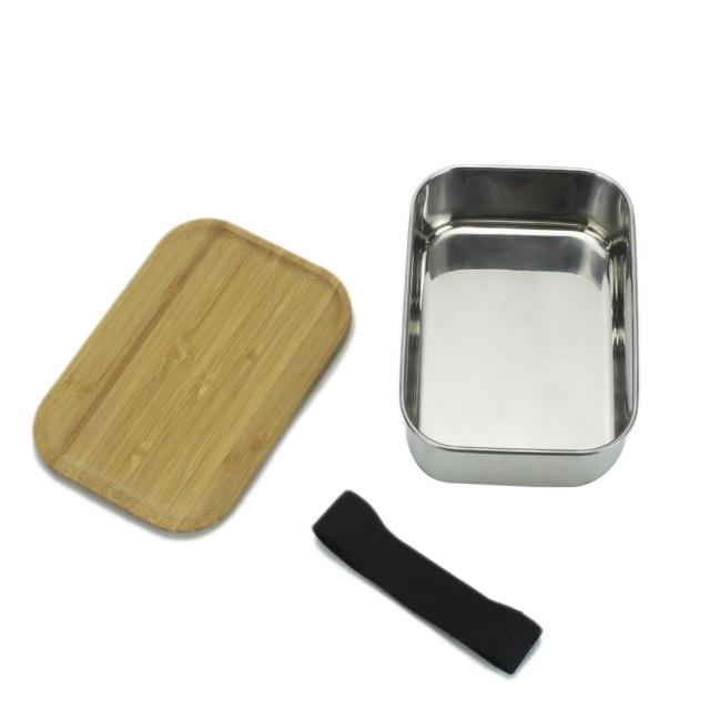 Practical Portable Eco-Friendly Stainless Steel Lunch Box