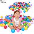 2016 Высокое качество 50 Шт./лот Красочный Бал Fun Ball Мягкие Пластиковые Океан Бал Младенца Kid Игрушка Плавать Яма Игрушки Экологически Чистые