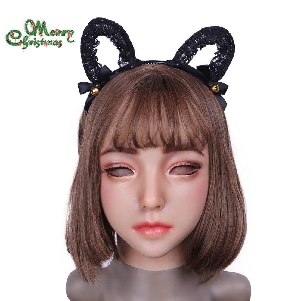 2018 new Emily Doll Adatto per crossdresser di travestimento Pseudo prodotti di strada per drag queens trans cosplay bocca Apribile
