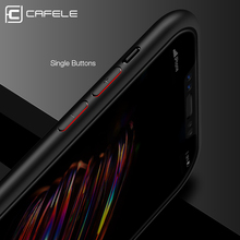 Cafele Original Phone Case for Apple iPhone X Clear PC Back