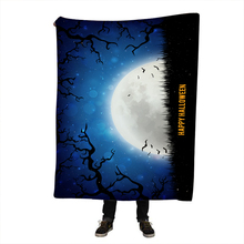 Halloween Printing Sherpa Blanket for Beds Butterfly Plush Throw Blanket Kids Adults Throw Bedding 150x200CM все цены