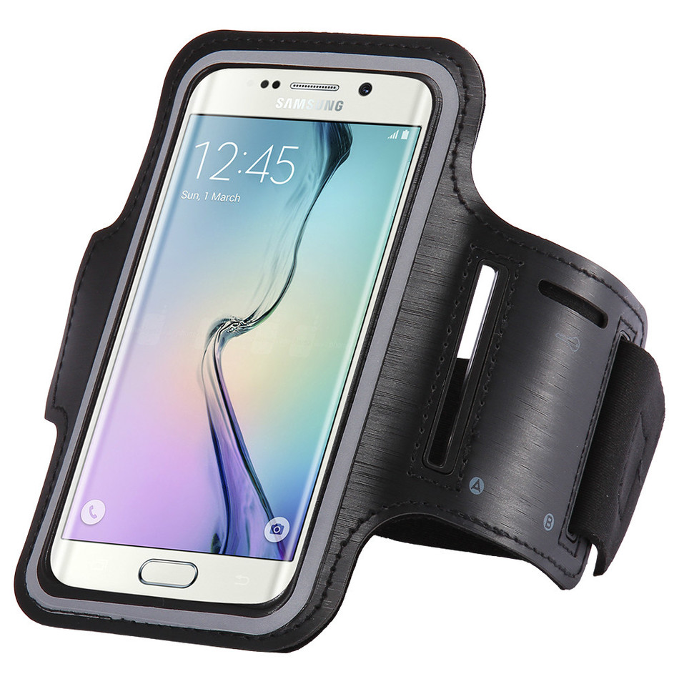 Adjustable SPORT GYM Arm Band Bag Case For lenovo k3 note a7000 k5 vibe p1 x3 5.5″ Running Arm Holder Pouch Phone Cover Capa
