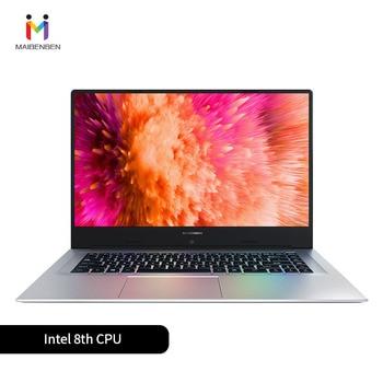 "MaiBenBen XiaoMai 6A for Office Laptop N4100+MX250 2G Graphics Card/8G RAM/ 128G SSD+1TB HHD/DOS/Silver 15.6"" ADS Metal Notebook 1"