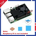 52Pi Original New! CNC Extreme Cooling Fan Heatsink Kit For Raspberry Pi 3 B+ / 3B Plus / 3B, Not include Pi Board