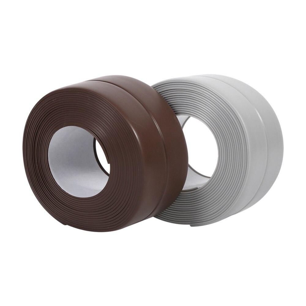 3.2M Sealing Strip PVC Kitchen waterproof mold tape kitchen sink door and window moisture seal strip
