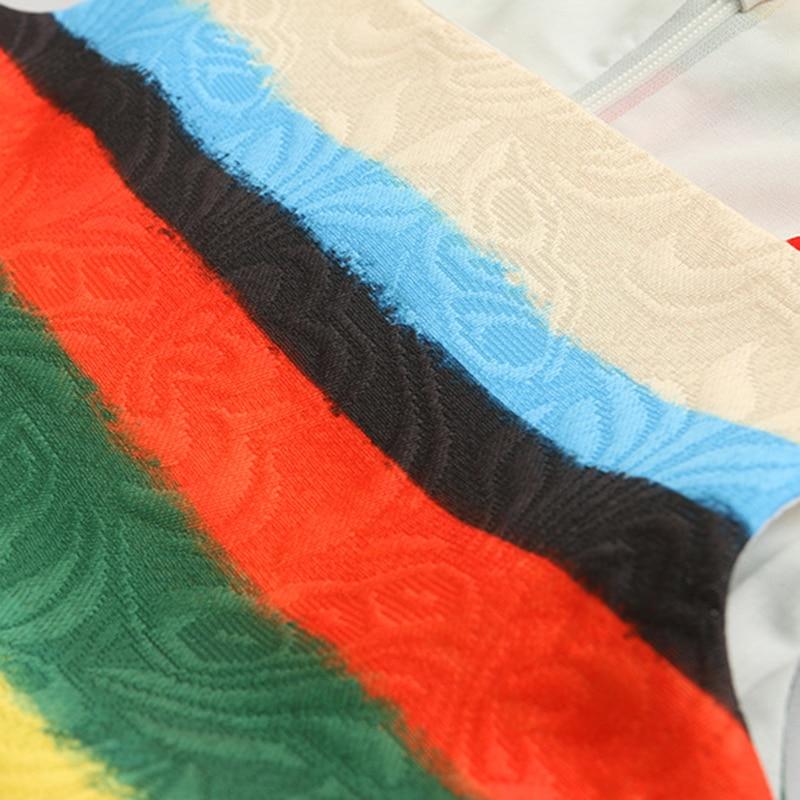 Bear Leader Girls Dresses 2018 New European And American Style Children Sleeveless Colorful Stripes Dress Design Kids Dresses
