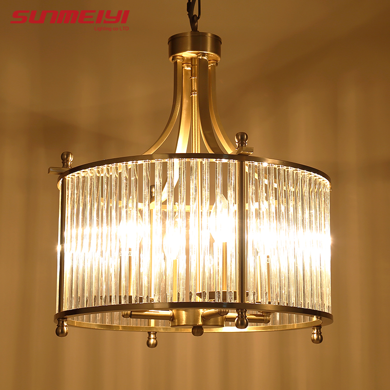 Modern copper chandelier wrought led chandeliers lighting fixtures modern copper chandelier wrought led chandeliers lighting fixtures led hanging lamp with glass shade for living room in chandeliers from lights lighting aloadofball Gallery