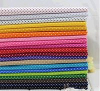 20 30cm Tilda Polka Dot Printed Cotton Fabric for Purser Patchwork Sewing  Tissue Handmade Baby da7976a363fd
