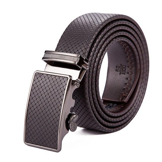 2015 Luxury Strap Male Brand Belt Genuine Leather Belt Men Automatic Cintos bussiness Belt Men Cinturones Hombre RD797