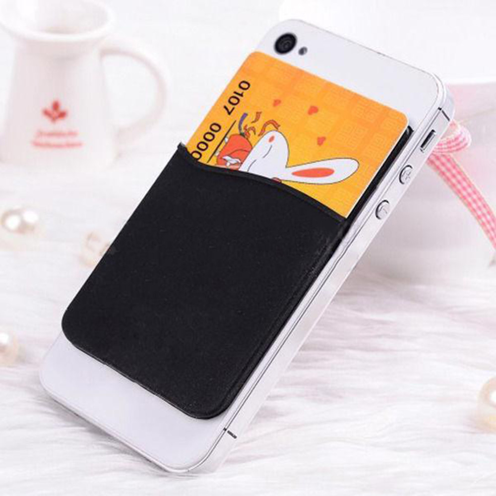 timeless design 7035b 91b24 US $1.36 |Fashion Adhesive Sticker Back Cover Card Holder Case Pouch For  Cell Phone 2017 Hot Sale colorful card holder-in Card & ID Holders from ...
