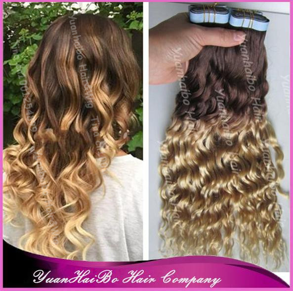 Best Quality 7a Two Tone 427 Virgin Brazilian Loose Curly Ombre
