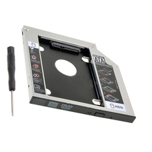 NEW 12 7mm SATA 2nd SSD HDD Caddy for Toshiba Satellite A210 A215 A300 Tecra M10