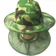 Уличная камуфляжная антимоскитная рыболовная шляпа с сеткой, головной убор рыбака, шляпа пчеловодства, маска для кемпинга, защита лица, шапки