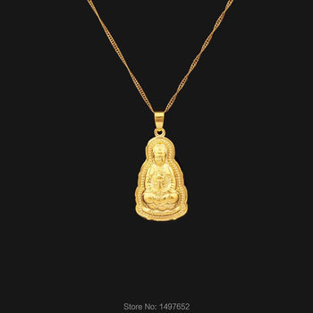 Classic DIY Gold Color Religious Buddha Pendants &Necklaces Charms India For Men Women Jewelry Free shipping Тахеометр