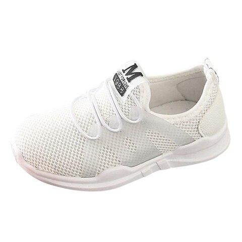Children Infant Kids Baby Girls Boys Letter Mesh Sport Run Sneakers Casual Shoes New arrival 2019 Karachi