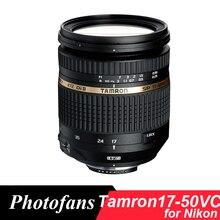 Tamron 17-50/2. 8 lente para nikon tamron vc 17-50mm f/2.8 Lente VC D3400 D3300 D5300 D5200 D5500 D5600 D500 D90 D7100 D7200