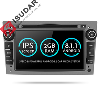 Isudar Car Multimedia Player GPS Android 8.1 2 Din DVD Automotivo For OPEL/ASTRA/Zafira/Combo/Corsa/Antara/Vivaro Radio FM DSP