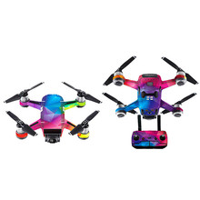For DJI Spark Mini Drone Waterproof Decal Skins Wrap Sticker Body Protector drop shipping 0712