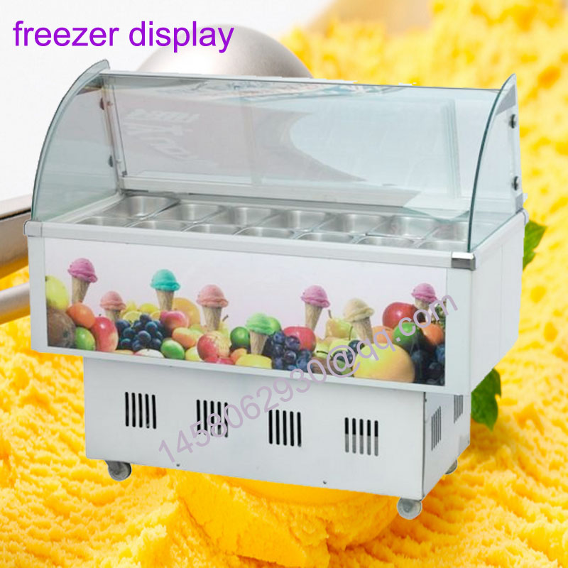 все цены на Italian Ice Cream Display Cabinet ice cream display cases ice cream freezer