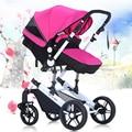 2016 Nova Moda Carrinho de Bebé Baby Srollers, Protable Carrinho De Bebê Carrinho De Bebê para Recém-nascidos, Dobrável Sistema de Viagem Do Bebê saco de Dormir carro