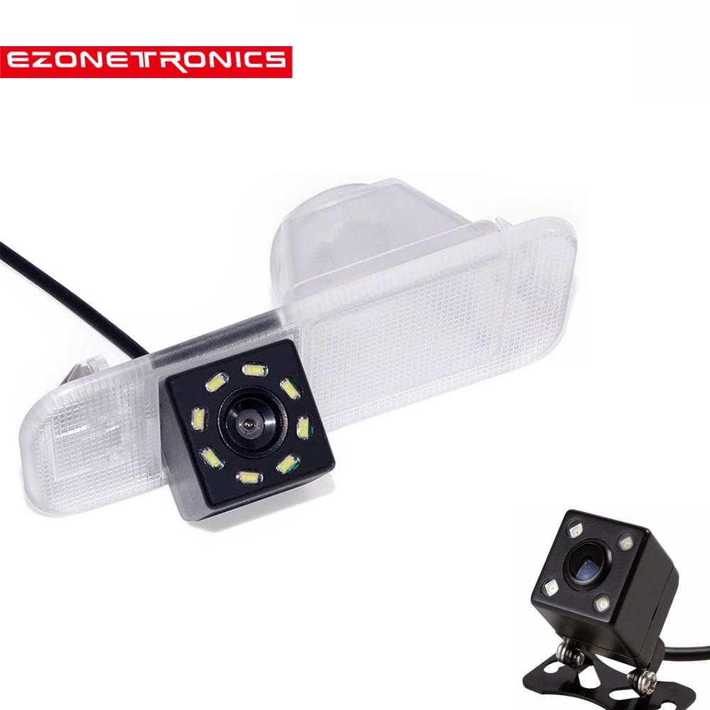 8LED Car CCD Night Vision HD Backup Waterproof Camera Rear View Camera For KIA  K2 Rio 3 UB Pride Sedan 2010- 2016 Accessories