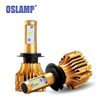 Oslamp Car LED H1 H7 Headlight 70W 7000LM 6500K SMD Chips All In One Aftermarket Replacement