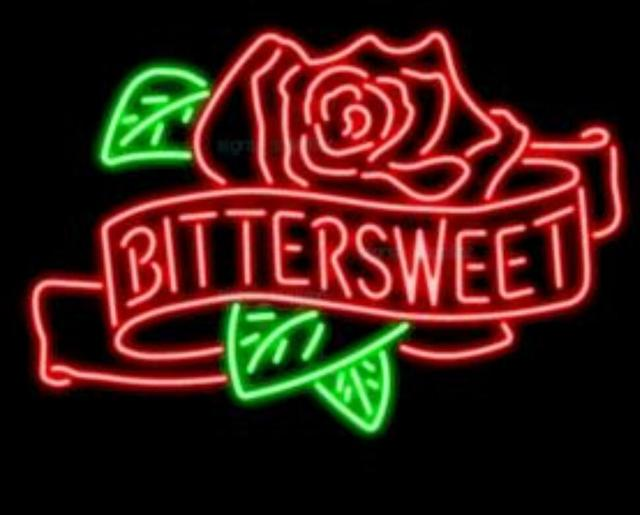 Custom Bittersweet Rose Green Leaves Glass Neon Light Sign Beer Bar
