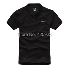 3 colours summer The new environmentally Tesla collar men's short sleeve POLO shirts high quality Customized shirt(China)