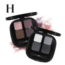 Henlics Shimmer Eye Shadow Palet Makeup Tahan Lama Glitter Eyeshadow Pallet Telanjang Pigmen Smoky Eye Shadow Kosmetik(China)